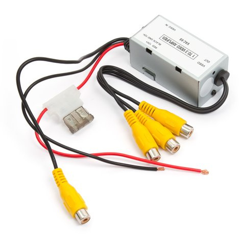 Car Video Distribution Amplifier (1 to 3 Channels) Preview 2