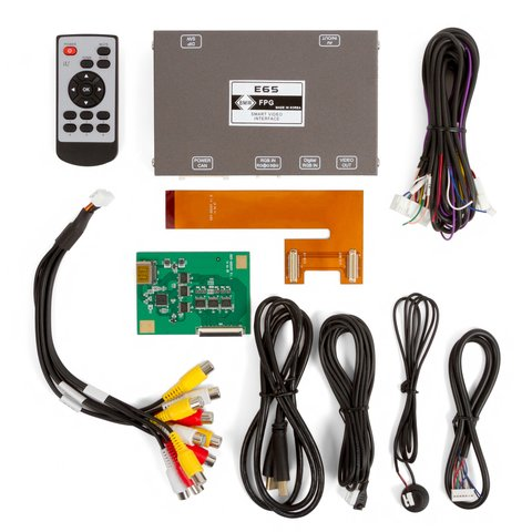 Video Interface for BMW E65, E66 of 2002-2008 MY Preview 4