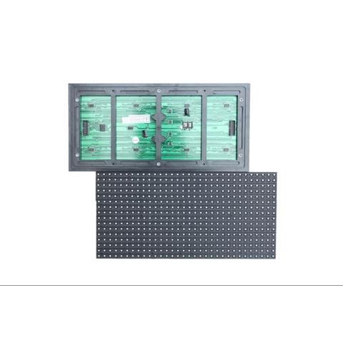 LED-модуль для реклами P10-SMD (червона, 320 × 160 мм, 32 × 16 точек, IP65, 1400 нт) - Перегляд 2