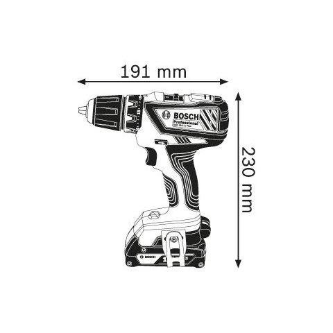 Аккумуляторная дрель-шуруповерт Bosch GSR 18-2-LI Plus