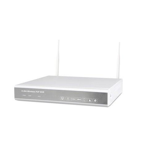 Комплект: мережевий відеореєстратор MIPCK0420 та 4 безпровідних IP-камер спостереження (720p, 2 МП) Прев'ю 1