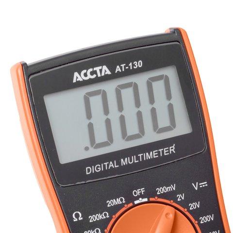 Цифровий мультиметр Accta AT-130 Прев'ю 6