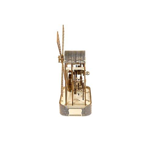 Деревянный механический 3D-пазл Wooden.City Мельница Превью 2